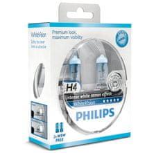 Philips Philips H4 WhiteVision 12V 12342WHVSM ( plus 2x W5W)