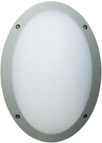 MEGAMAN MEGAMAN LED Nástenné FONDA F51300SM / SV 840 10.5W IP66 strieborná F51300SM / 840 / SV