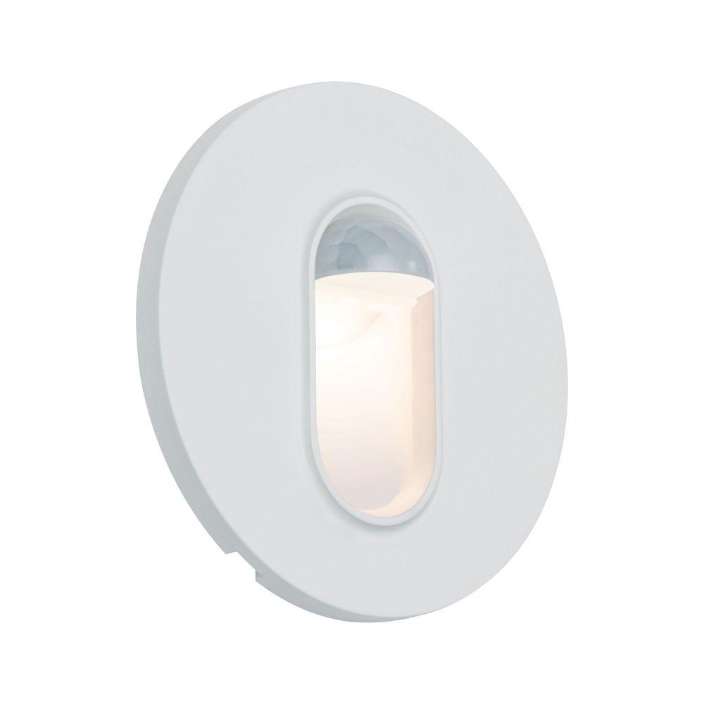 Paulmann Paulmann vestavné svítidlo do zdi kruhové 2,7W 2700K bílá pohybové čidlo 929.25 P 92925 92925