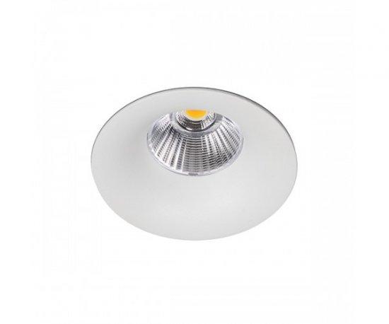 KOHL LIGHTING KOHL LIGHTING LUXO zapustené svietidlo texturovaná biela 8W 3000K K50150.W.3K