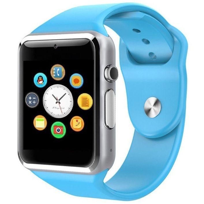 Smartomat Squarz 1 - modrá, chytré hodinky (smartwatch)