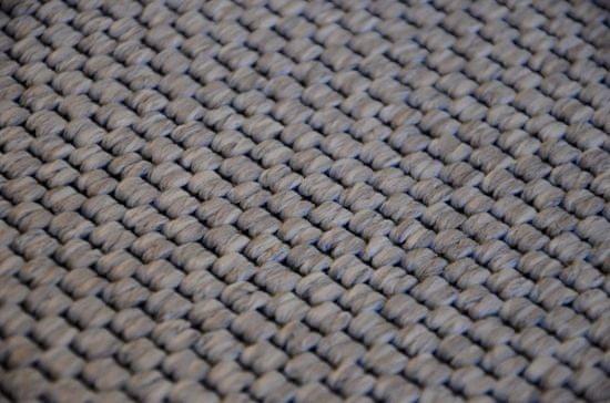 Vopi Kusový koberec Nature platina kulatý