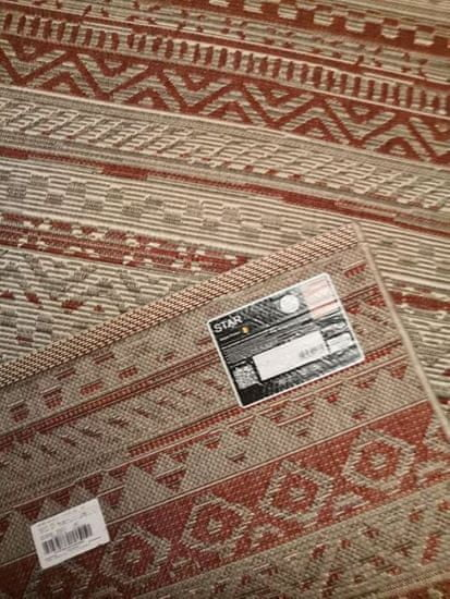 Spoltex Kusový koberec Star 19112-85 red