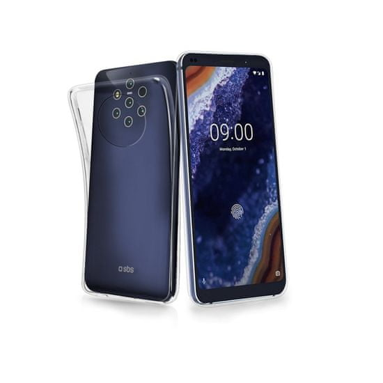 SBS silikon Nokia 9 Pureview, proziran
