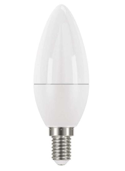 Emos LED žarnica Classic Candle/klasična sveča, 8W E14, nevtralno bela
