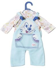 BABY born Roztomilé oblečení, modré, 36 cm