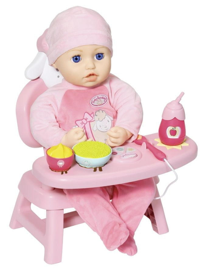 Baby Annabell Jídelní židlička se zvuky