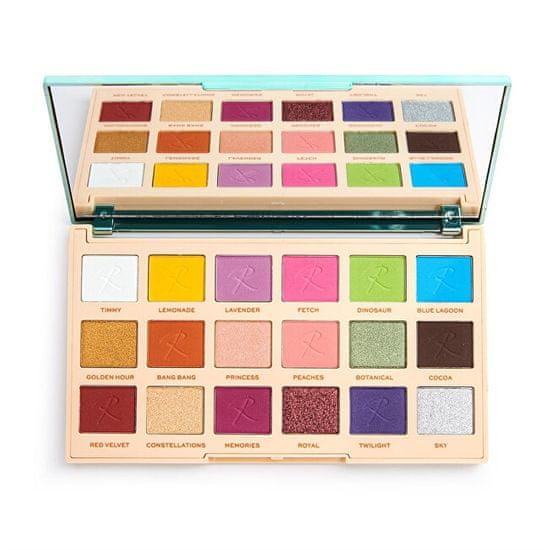 Makeup Revolution Szemhéjpúder-paletta x Roxxsaurus Color Burst 14,4 g