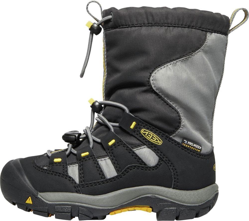 KEEN dětská zimní obuv WINTERPORT C 29 černá
