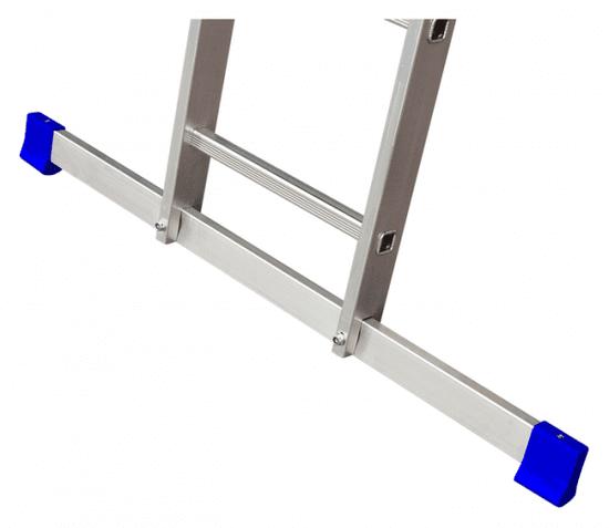 Elkop víceúčelový jednodílný žebřík 1 x 17 příček, 150kg, 4,5m