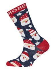 EWERS nogavice z motivom Božička, 23 - 26, rdeče