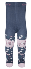EWERS lány harisnya gomba mintával, 74, kék