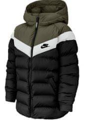 Nike gyerek kabát Sportswear S fekete