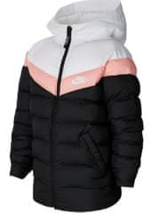 Nike dívčí bunda Sportswear S, černá