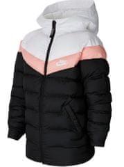 Nike lány kabát Sportswear M fekete