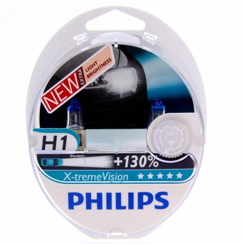 Philips Philips H1 X-treme VISION 12V 12258XV plus S2 plus 130procent