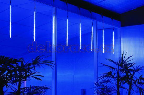 CityLight Sada 6 trubíc LED sneženie vonkajšie, dĺžka 11m, obnoviteľné
