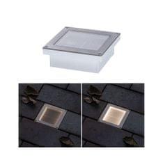 Paulmann Paulmann solárne LED zemné svietidlo Aron 10x10 cm pohybové čidlo 942.38 P 94238 94238