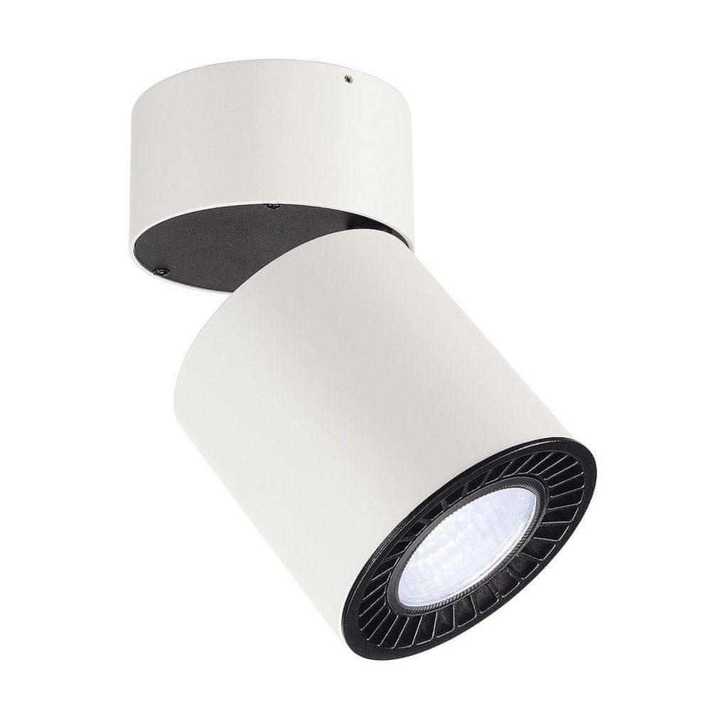 BIG WHITE BIG WHITE SUPROS, stropní svítidlo, LED, 4000K, kulaté, bílé, 3 100 lm, reflektor 60°, 33,5W 118181