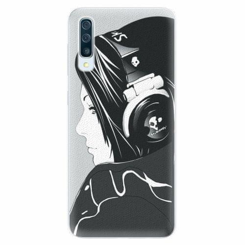 iSaprio Silikonové pouzdro - Headphones - Samsung Galaxy A50