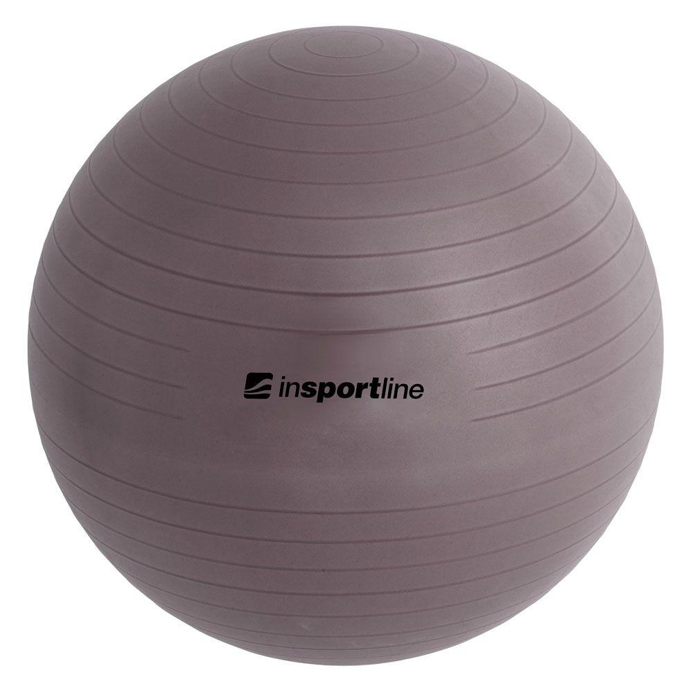 inSPORTline Gymnastický míč Top Ball 75 cm - barva tmavě šedá