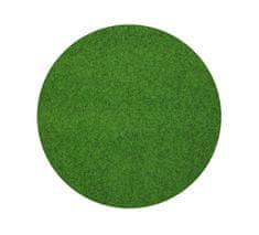 Travní koberec pod bazén Sporting s nopy KRUH (vhodný jako bazénová podložka) 150x150 (průměr) kruh