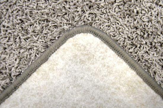 Vopi Kusový šedý koberec Color Shaggy čtverec