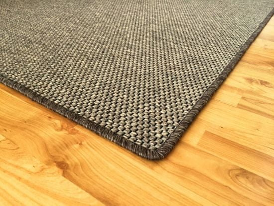 Vopi Kusový koberec Nature tmavě béžový čtverec