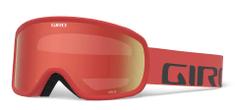 Giro Cruz Red Wordmark Amber Scarlet
