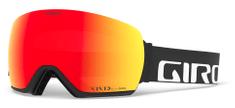 Giro Article Black Wordmark Vivid Ember/Vivid Infrared (2 Szkła)