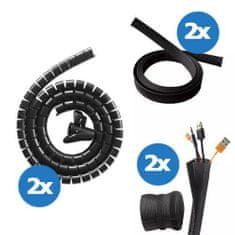 UVI Desk komplet za upravljanje kablov
