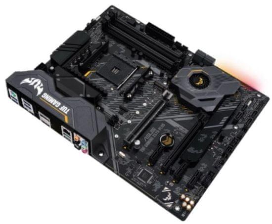 Asus TUF GAMING X570-PLUS, DDR4, USB 3.2 Gen2, AM4, ATX osnovna plošča
