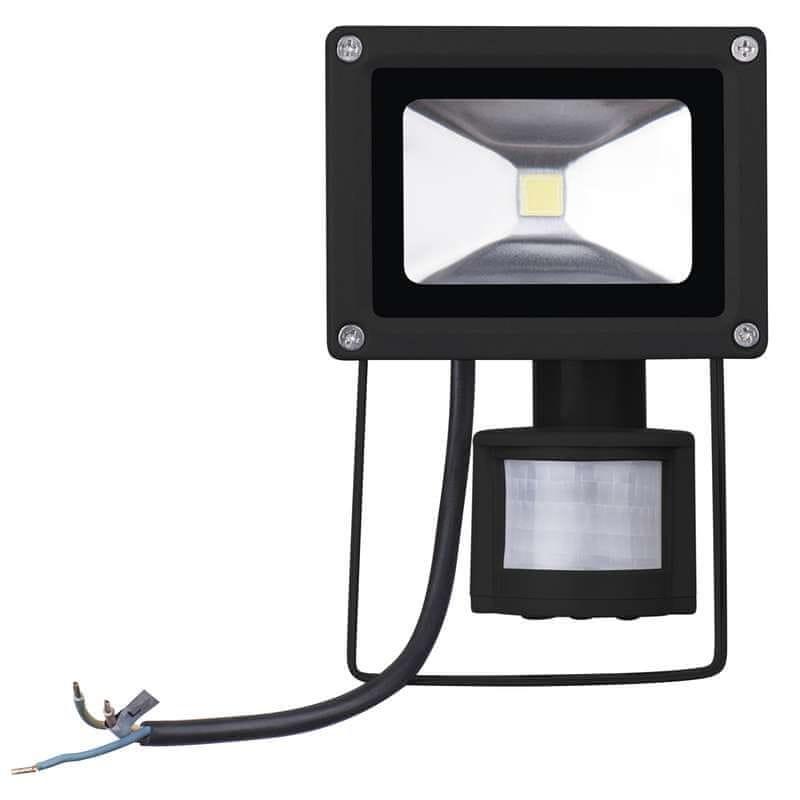 Emos EMOS LED reflektor HOBBY s PIR, 10W neutrální bílá 1531231010