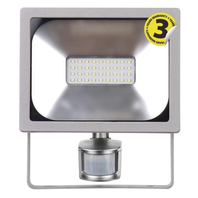 Emos EMOS LED reflektor PROFI s PIR, 20W neutrální bílá 1531271020