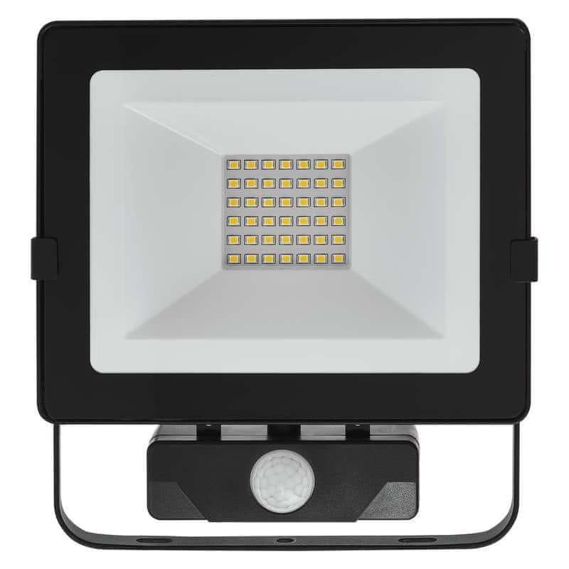 Emos EMOS LED reflektor HOBBY SLIM s PIR, 30W neutralní bílá 1531231031