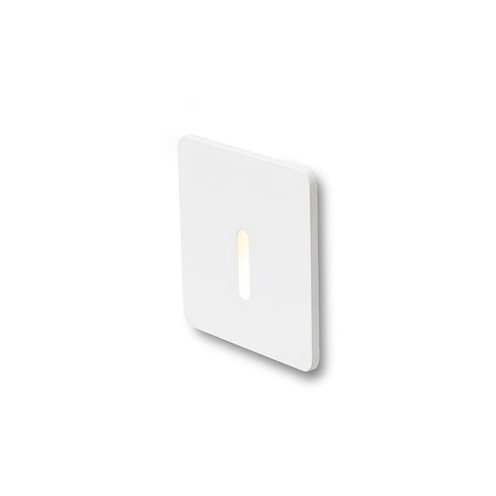RED Design Rendl RENDL IRIA SQ zápustná bílá 230V LED 1W 10° 3000K R12612