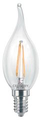 Century CENTURY LED FILAMENT SVÍČKA PLAMEN ČIRÁ 2W E14 2700K 245Lm 360d 35x118mm IP20 CEN INM1C-021427