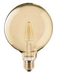 Century CENTURY LED FILAMENT GLOBE 125mm EPOCA 10W E27 2200K 806Lm 360d DIMM 125x174mm IP20 CEN INVG125D-102722
