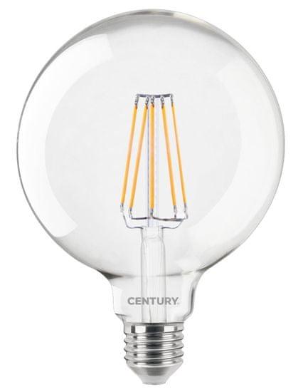 Century CENTURY LED FILAMENT GLOBE 125mm ČIRÁ 10W E27 6000K 1521Lm 360d 125x174mm IP20 CEN ING125-102760