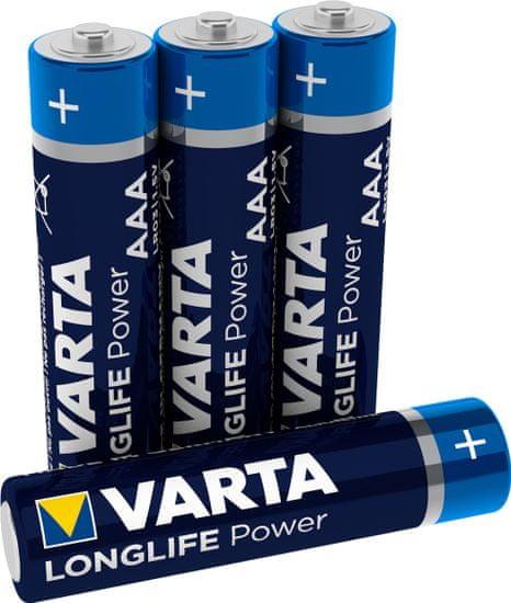 VARTA Batérie Longlife Power 4 AAA 4903121414