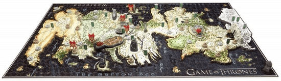 4D Cityscape Puzzle Hra o tróny - Game of Thrones