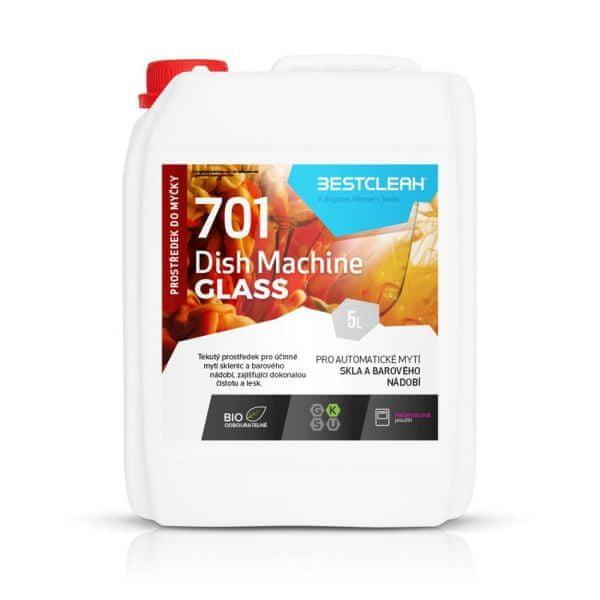 BestClean BESTCLEAN 701 prostředek na mytí sklenic a barového nádobí - 5 l