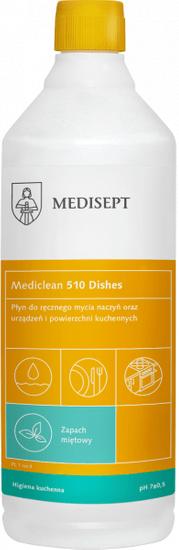 Mediclean Diament Mint MC510 na ruční mytí nádobí s vůní máty - 1 l