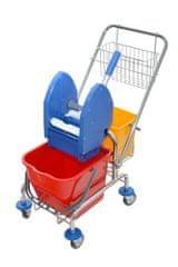 EASTMOP Úklidový vozík Clarol 1x17 l PLUS
