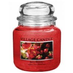 Village Candle Świeca w szklanym słoju Świeca wiejska, TIRO TB BC L NIEBIESKI / CONAVY / BIAŁY L