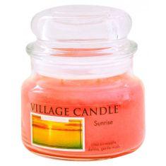 Village Candle Świeca w szklanym słoju Świeca wiejska, Wschód słońca, 312 g