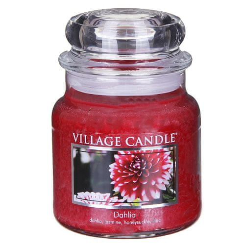 Village Candle Svíčka ve skleněné dóze , Dahlia, 454 g