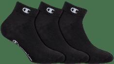 Champion členkové ponožky CH08QH ANKLE SOCKS LEGACY 3 ks čierna 35 - 38