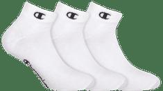 Champion kotníkové ponožky Y08QH ANKLE SOCKS LEGACY 3 ks bílá 39 - 42
