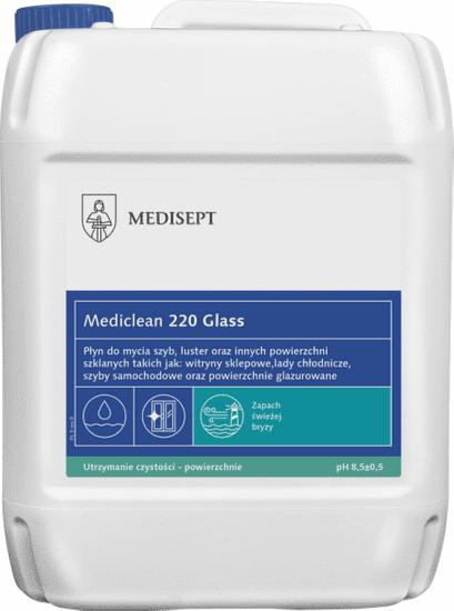 Mediclean Glass Clean MC220 na okna a zrcadla - 5 l